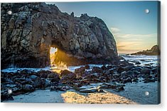 Doorway To Heaven Acrylic Print by Pierre Leclerc Photography