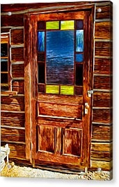 Doorway To The Past Acrylic Print by Omaste Witkowski