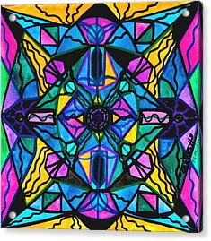 Dopamine Acrylic Print by Teal Eye  Print Store