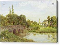 Dorking  Acrylic Print by Henry Sutton Palmer