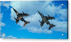 Dornier Alpha Jets Acrylic Print by Bianca Nadeau