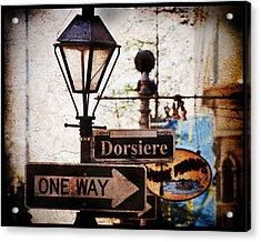 Dorsiere Acrylic Print by Ray Devlin