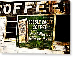 Double Eagle Coffee Acrylic Print by Scott Pellegrin