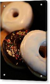 Doughnut Roll Acrylic Print by Karen Wiles