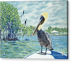 Down In The Keys Acrylic Print by Danielle  Perry