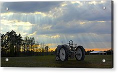 Down On The Farm Acrylic Print by Mike McGlothlen