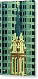 Downtown Dallas Acrylic Print by Janette Boyd