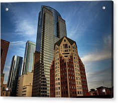 Downtown Los Angeles 002 Acrylic Print by Lance Vaughn