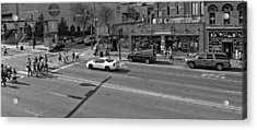 Downtown Nashville Legends Corner Acrylic Print by Dan Sproul