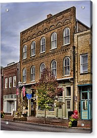 Dowtown General Store Acrylic Print by Heather Applegate