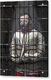 Dr. Lecter Restrained Acrylic Print by Daniel Hagerman