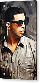 Drake Artwork 2 Acrylic Print by Sheraz A