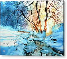 Drawn To The Sun Acrylic Print by Hanne Lore Koehler