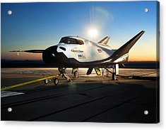 Dream Chaser Spaceplane Testing Acrylic Print by Nasa