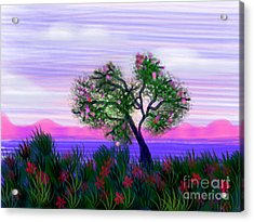 Dream Of Spring Acrylic Print by Judy Via-Wolff