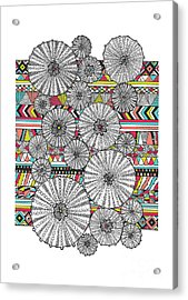Dream Urchins Acrylic Print by Susan Claire