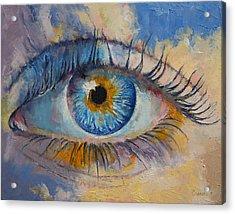 Eye Acrylic Print by Michael Creese