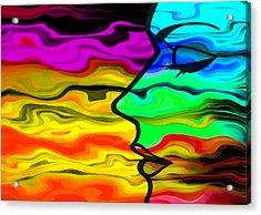 Dreaming 2 Acrylic Print by Angelina Vick
