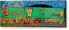 Dreams Of The Palace Acrylic Print by Patricia Arroyo