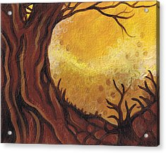 Dreamscape In Fall Tones #1 Of 4 Acrylic Print by Laura Noel