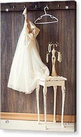 Dress Acrylic Print by Amanda Elwell