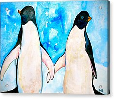 Dressed For Dinner Acrylic Print by Debi Starr