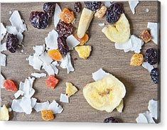 Dried Fruit Acrylic Print by Tom Gowanlock