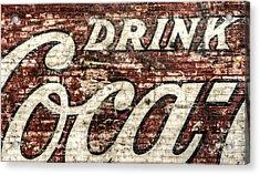 Drink Coca-cola 2 Acrylic Print by Scott Norris