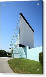 Drive-in Movie Acrylic Print by Frank Romeo