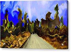 Drive Thru 1 Acrylic Print by Bruce Iorio
