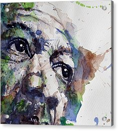 Driving Miss Daisy Acrylic Print by Paul Lovering