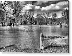 Drowned Park Acrylic Print by Tim Buisman