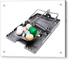 Drug Treatment Risk Acrylic Print by Sinisa Botas