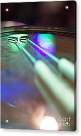 Drum Brushes Acrylic Print by Lynda Dawson-Youngclaus