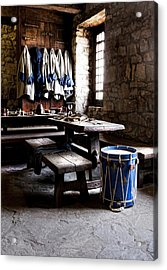 Drum Corps 2 Acrylic Print by Peter Chilelli