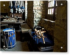 Drum Corps 3 Acrylic Print by Peter Chilelli