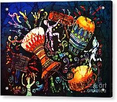 Drumbeat Acrylic Print by Sue Duda