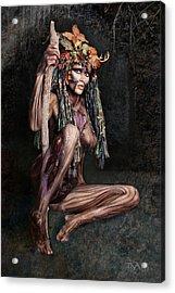 Dryad IIi Acrylic Print by David April