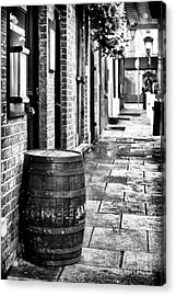 Dublin Street Acrylic Print by John Rizzuto