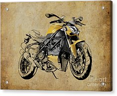 Ducati Streetfighter 848 2012 Acrylic Print by Pablo Franchi