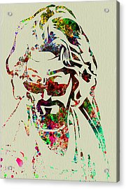 Dude Acrylic Print by Naxart Studio
