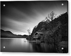 Duke Of Portland Boathouse Acrylic Print by Dave Bowman