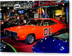 Dukes Of Hazzard Acrylic Print by Frozen in Time Fine Art Photography