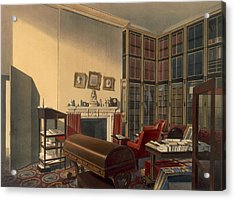 Dukes Own Room, Apsley House, By T. Boys Acrylic Print by Thomas Shotter Boys