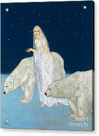 Dulac: The Ice Maiden, 1915 Acrylic Print by Granger