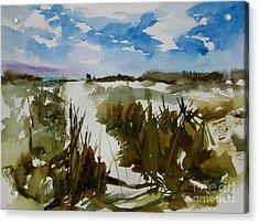 Dunes Acrylic Print by Julianne Felton