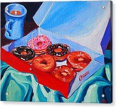 Dunkin Donuts Acrylic Print by Sean Boyce