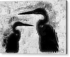 Duo Acrylic Print by Jack Zulli