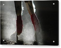 Dusty Legs Acrylic Print by Joy Alfandre