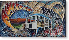Dynamic Route 66 II Acrylic Print by Ricardo Chavez-Mendez
